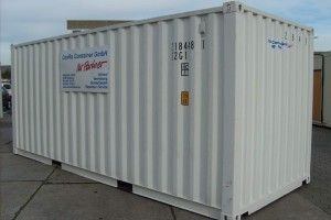 20' ISO-Norm Seecontainer - Werkstattcontainer - Stahlcontainer - conro.container