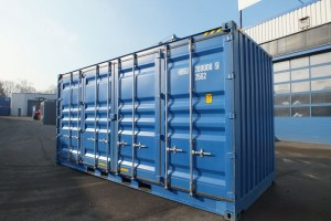 20' Seecontainer High-Cube Side-Door
