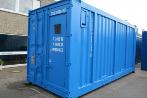 20' Offshore-Monitoring-Workshop-Container DNV 2.7-1 / EN 12079