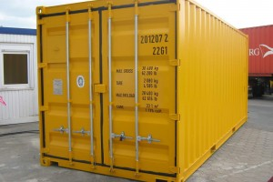 20' Werkstattcontainer - ISO-Norm Seecontainer - Stahlcontainer - CSC-Zulassung