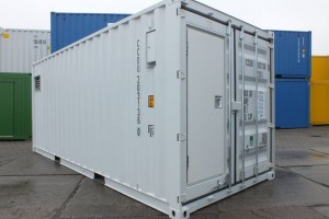 20' Kühlcontainer - Regal-Lagercontainer - Krahnbahn - Isoliercontainer - Stahlcontainer - Seecontainer - conro.container