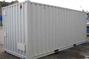 20' Schaltanlagencontainer - Stahlcontainer - conro.container