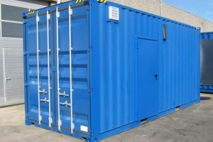BHKW Container