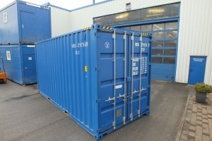20' High-Cube-Seecontainer