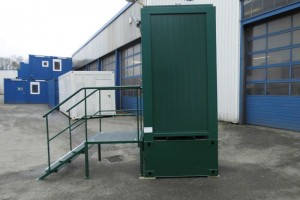 5' WC-Container - Toilettencontainer - WC-Kabine - conro.container