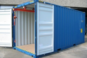 20' Werkstattcontainer - Krahnbahncontainer - ISO-Norm Seecontainer - Stahlcontainer mit CSC-Zulassung