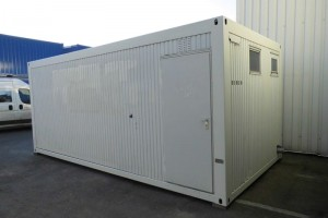 20' Sanitärcontainer - WC-Container - Duschcontainer conro.container