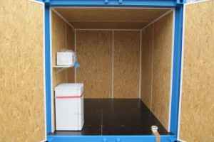 10' Isoliercontainer_Werkstattcontainer_Stahlcontainer