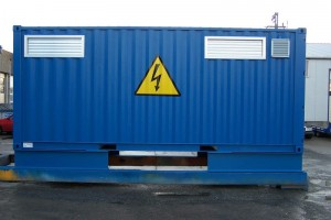 20' Trafo-/ Schaltanlagencontainer_Technologiecontainer_Stahlcontainer_ISO-Norm Seecontainer