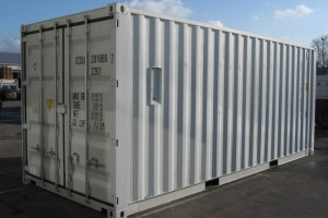 20' Werkstattcontainer ISO-Norm Seecontainer - Stahlcontainer mit CSC-Zulassung