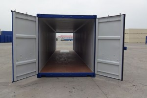 40' Double-Door-Seecontainer