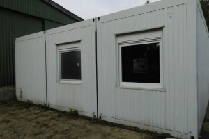 20' 3er-Buerocontainer-Wohncontainer-Anlage conro.container