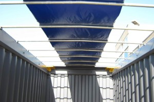 20' Open-Top-Container mit offshore-Kranösen