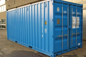 20' Werkstattcontainer - ISO-Norm Seecontainer - Stahlcontainer mit CSC-Zulassung