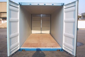 20' Double-Door-Seecontainer