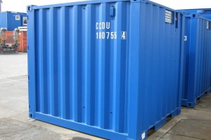 10' Werkstattcontainer - Stahlcontainer - conro.container