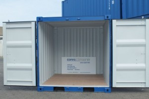8' Lager-/Seecontainer_Stahlcontainer_Materialcontainer_Innenansicht