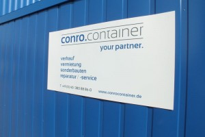 45' High-Cube-Seecontainer, palettenbreit