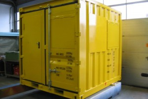 Offshore Container / operator cabin