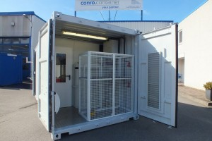 20' Double-Door Ueberwachungscontainer_Seecontainer_Monitoring-Container_conro.container