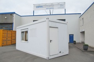 20' Bürocontainer - Aufenthaltscontainer - conro.container