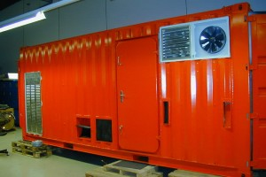 Offshore-Container / Aggregat-Container