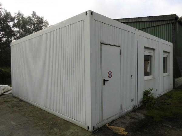 20\' 3er Bürocontainer-Wohncontainer-Anlage, gebraucht