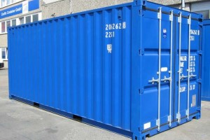 20' Lagercontainer - Seecontainer - Stahlcontainer - Materialcontainer - conro.container